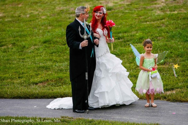 Disney Princess Themed Wedding GeekTyrant