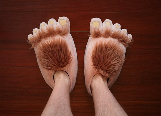 Kjøp Hobbit Feet - Slippers (03798) - Inkl. frakt (Toll og ... |Hobbit Feet Slippers