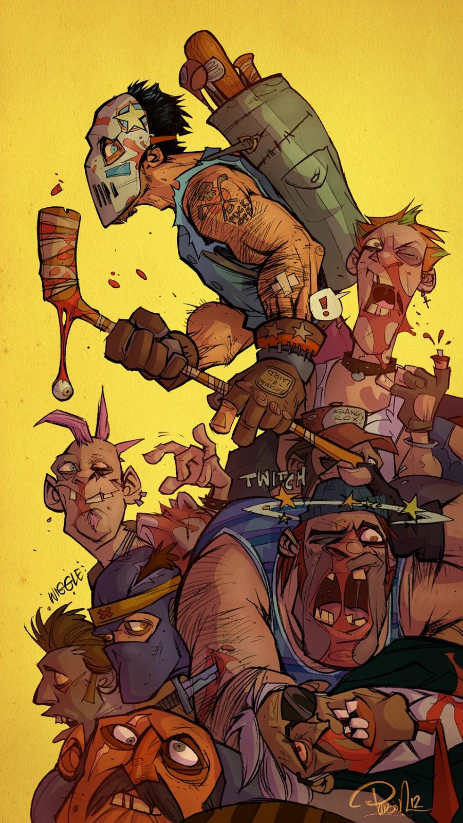 Slap Shot Vigilante Tmnt Casey Jones Art Geektyrant