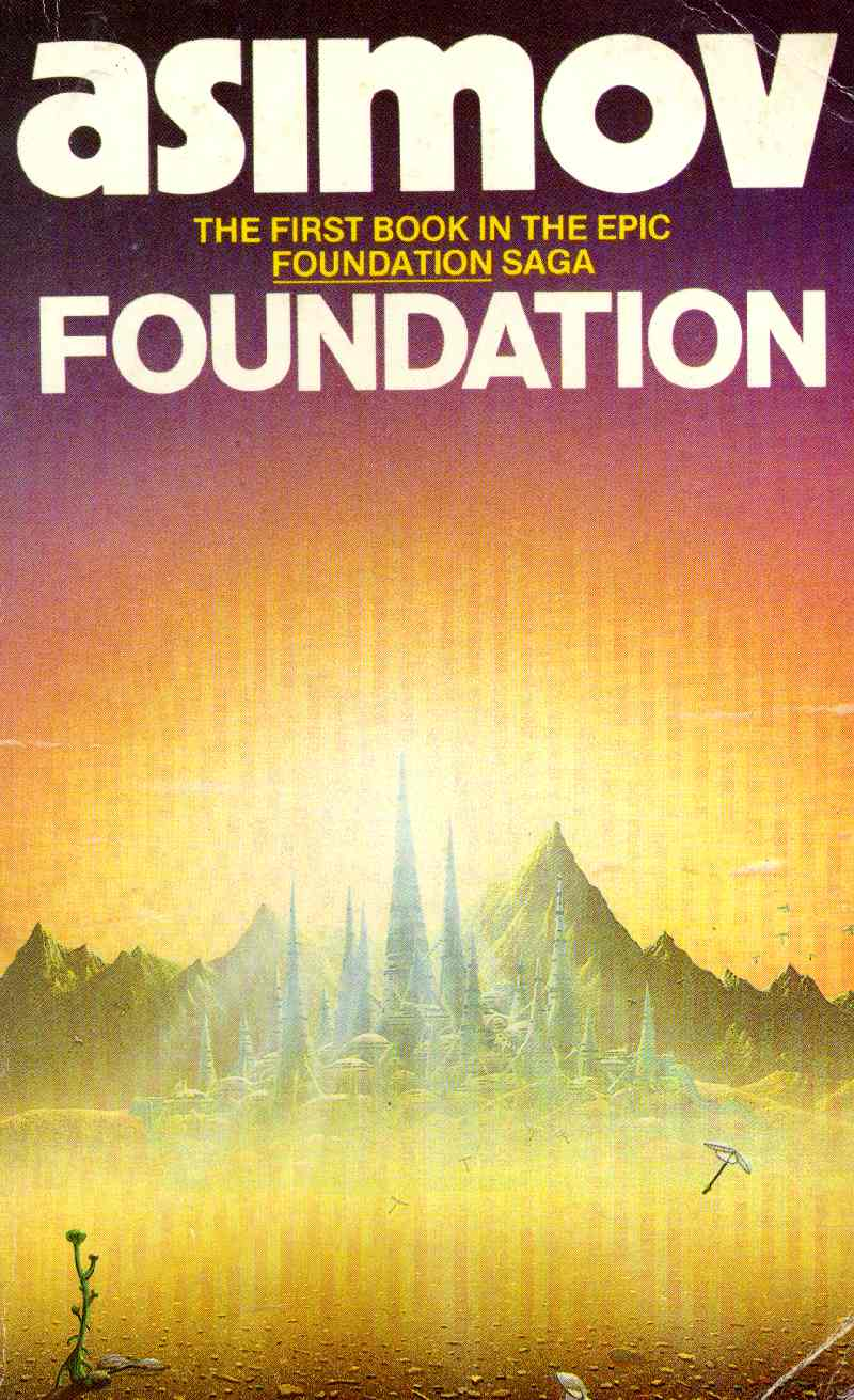 Book Cover Series S : The film adaptation of isaac asimov s foundation has a