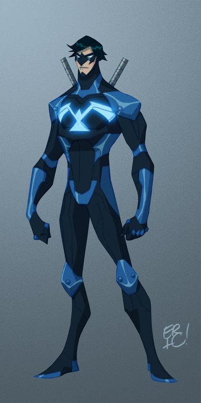 Costume Closet Spotlight On Nightwing Geektyrant