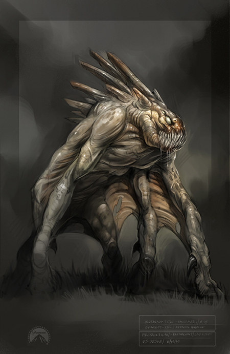 86 best Neville Page_SUPER 8 images on Pinterest | Aliens ... |Super 8 Alien Design