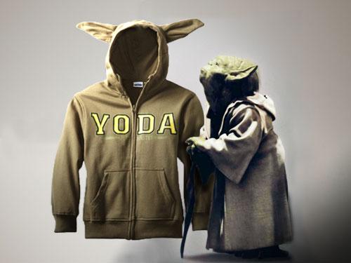 Star Wars Yoda Eared Hoodie Geektyrant