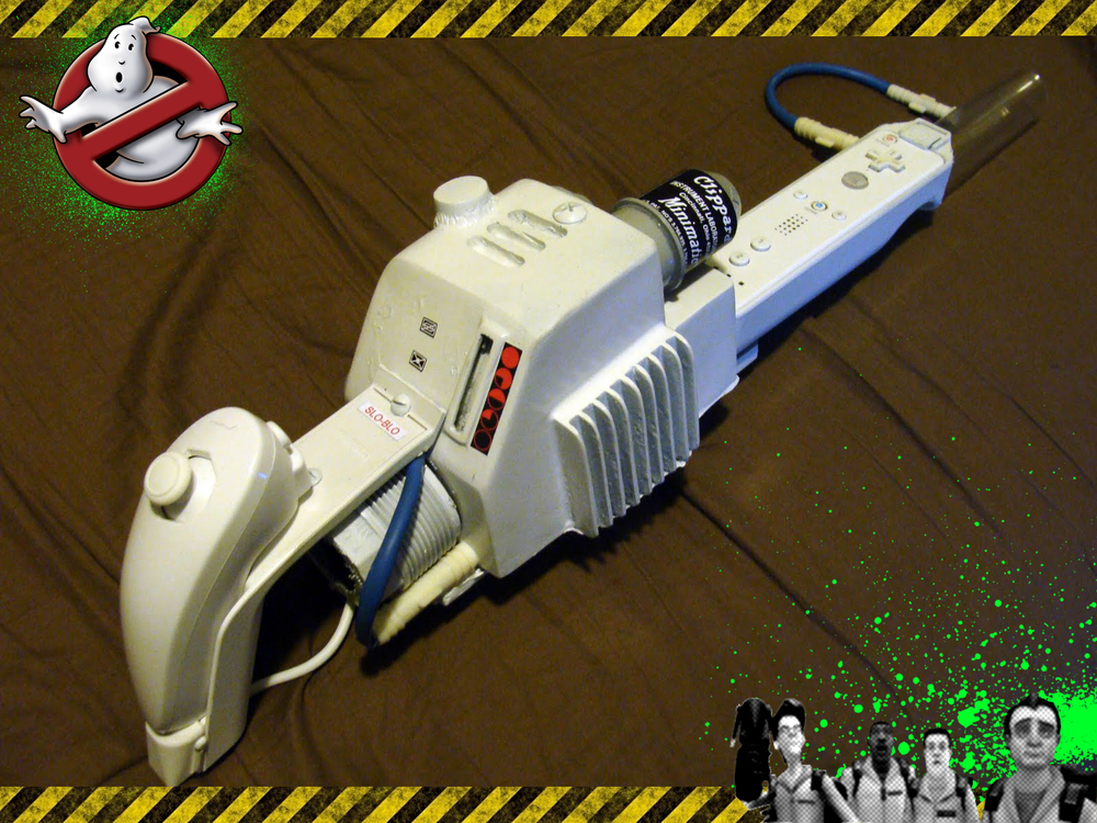Fully Functional Ghostbusters Proton Pack For The Wii Geektyrant