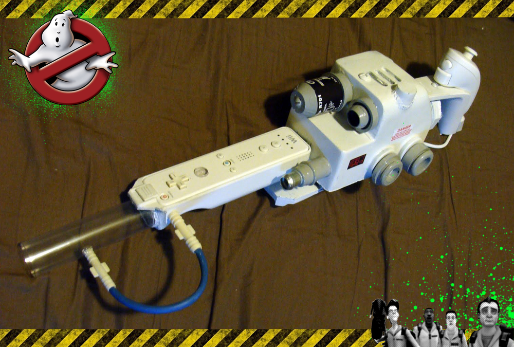 Fully Functional Ghostbusters Proton Pack For The Wii