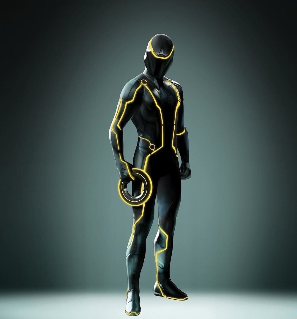 TRON LEGACY Promo Images Of The Disc Game Designs GeekTyrant