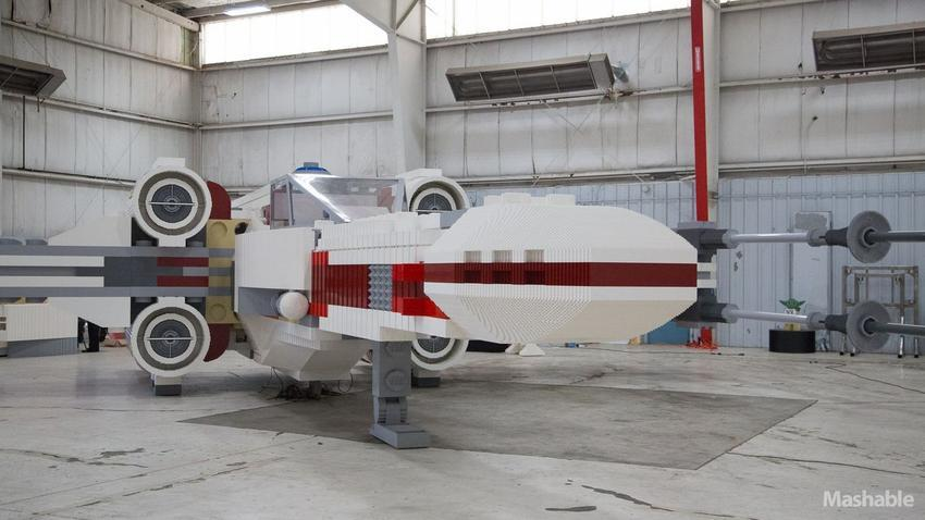 LEGO Built an Epic Full Size X Wing — GeekTyrant