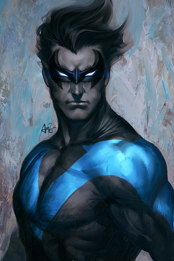 Nightwing comic art | Superheroes | Pinterest | Nightwing, Comic ...