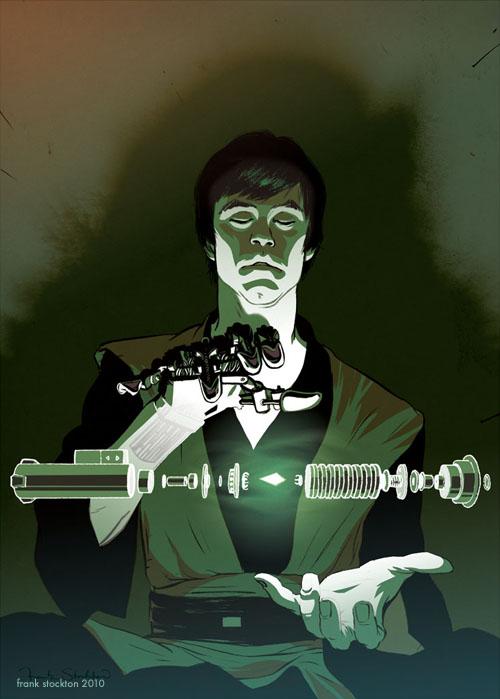 cool star wars geek art from frank stockton geektyrant