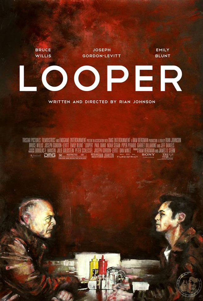 LOOPER - Cool New Poster Art — GeekTyrant