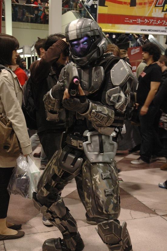 geek copslay new york comic con 2011 photo collection - Halo Reach Halloween Costume