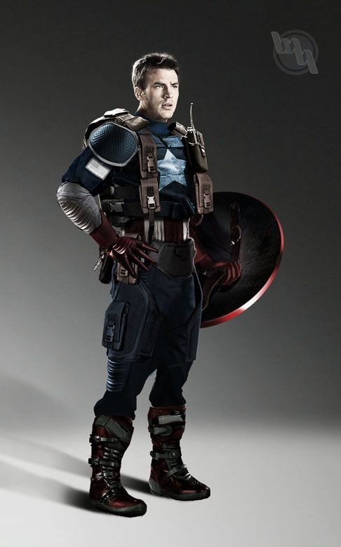 Latest Fan Art Of Chris Evans As CAPTAIN AMERICA — GeekTyrant