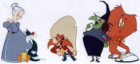 Looney tunes show characters