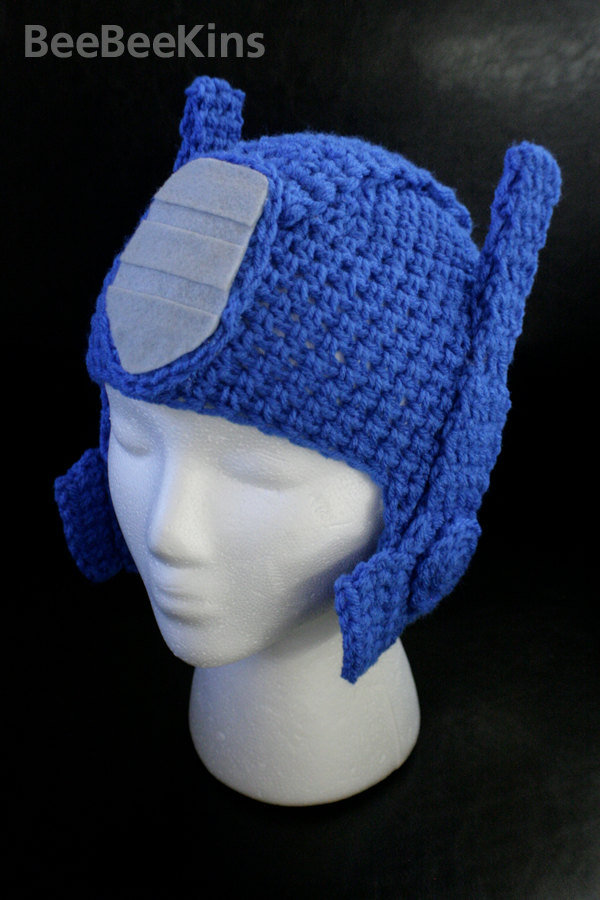 Awesome Optimus Prime Knitted Hat Geektyrant