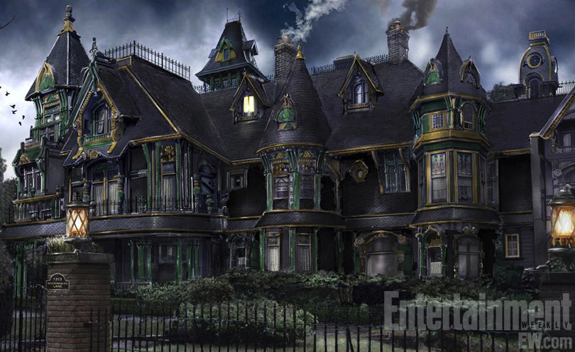 First look at the munsters house in mockingbird lane Home architecture tv show