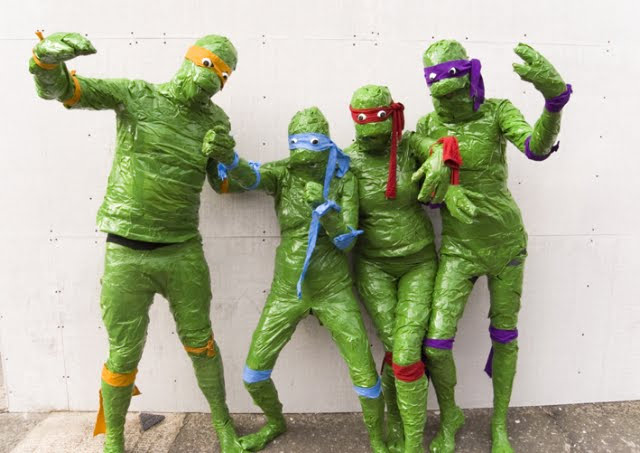 Cheapest Teenage Mutant Ninja Turtles Cosplay Ever Geektyrant