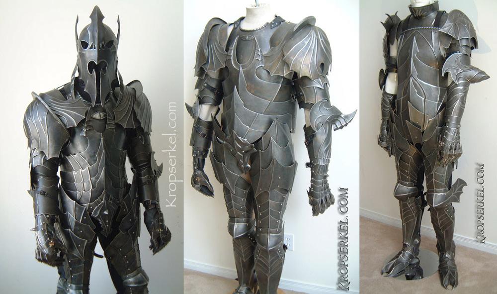 lord of the rings nazgul armor looks ferocious � geektyrant