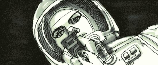 awesome alien storyboard art from ridley scott � geektyrant