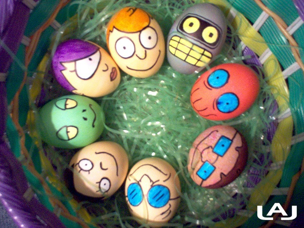 Collection Of Fun Geeky Easter Egg Designs GeekTyrant