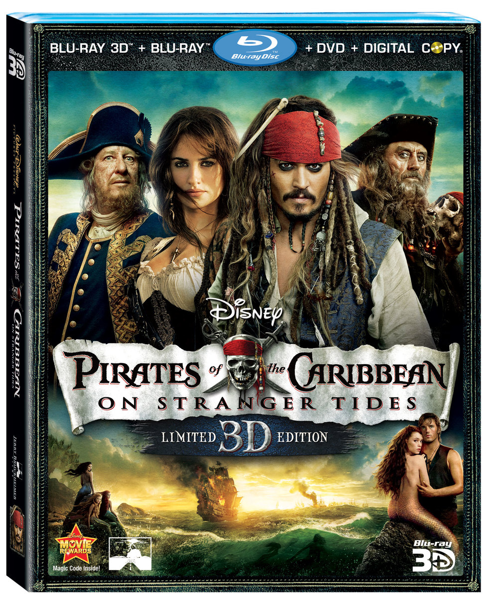 Disney Doppelgangers Pirates Edition: Win A PIRATES OF THE CARIBBEAN 4 Prize Pack