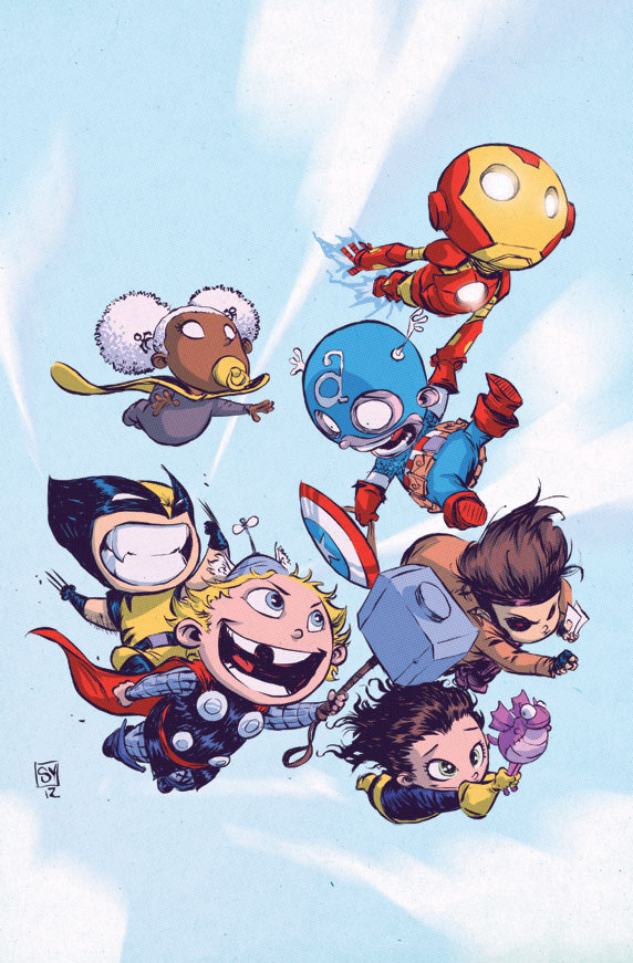 Fantastic Marvel Baby Character Art From Scottie Young GeekTyrant