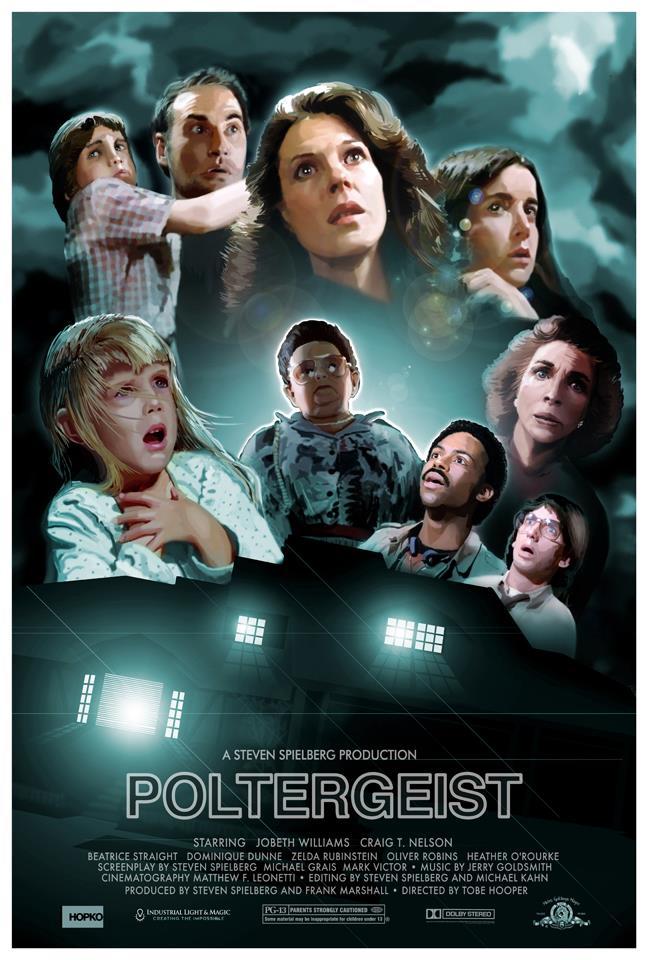 Cool Poltergeist Movie Poster Art From Hopko Designs