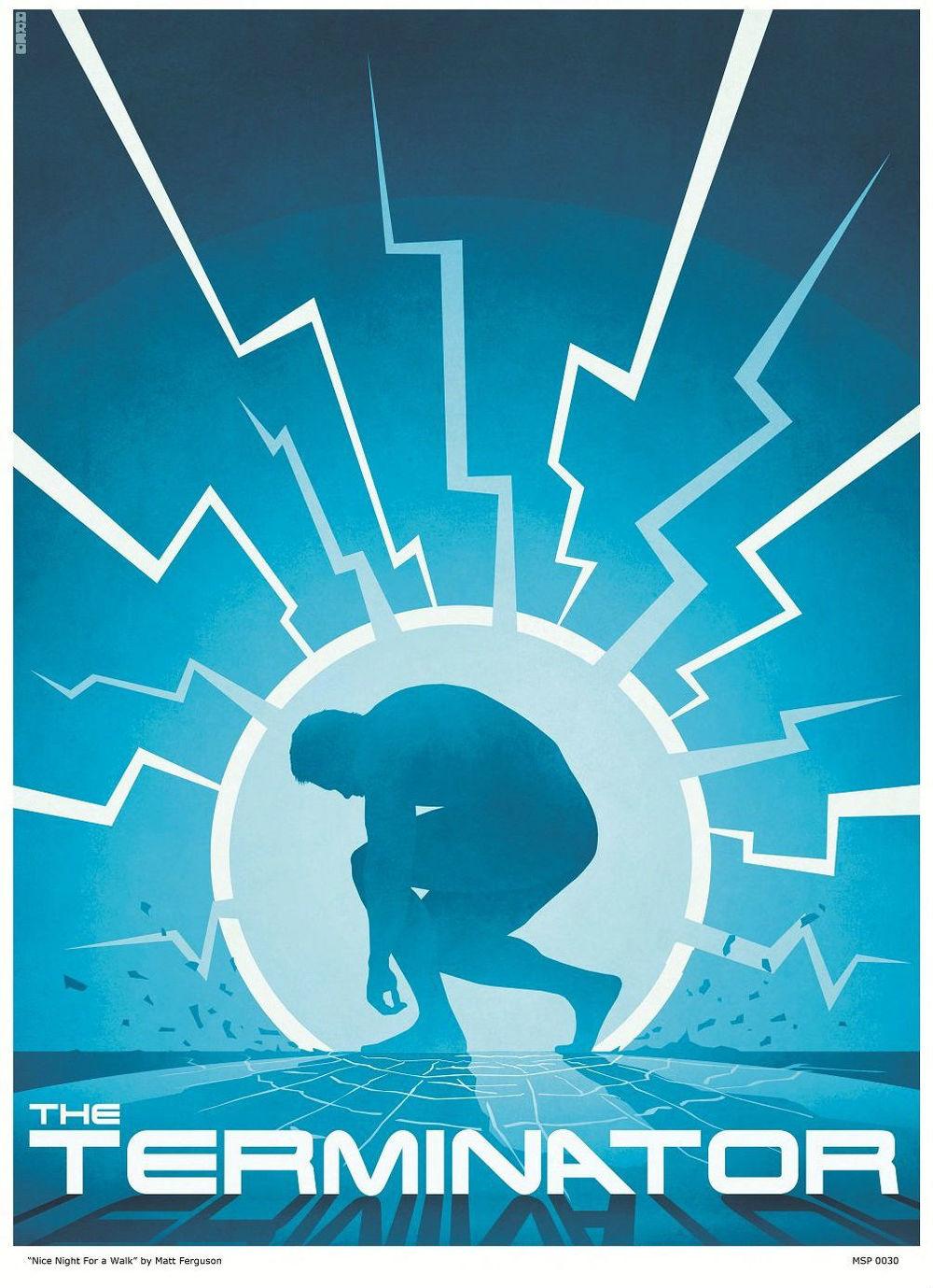 Alien Blade Runner And Terminator Poster Art Geektyrant