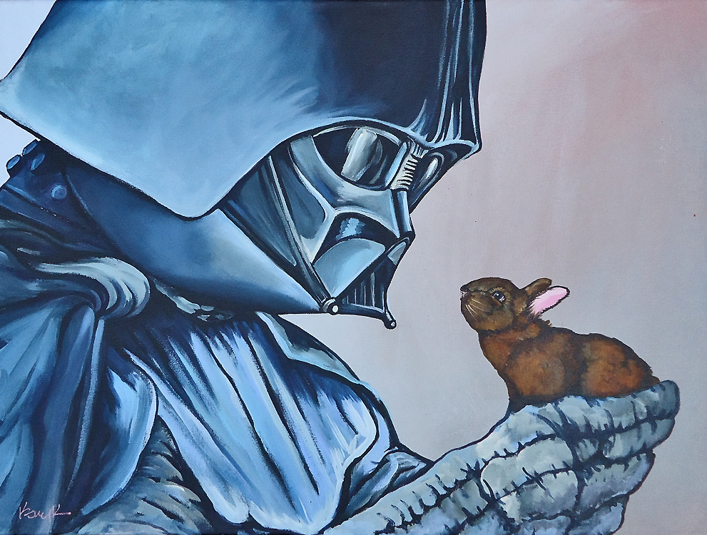 Darth Vader and Boba Fett Holding... Bunnies?! — GeekTyrant