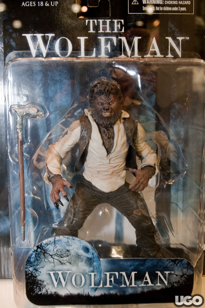 Homepage Full Post Featured: TOY FAIR 2010: THE WOLFMAN Figure
