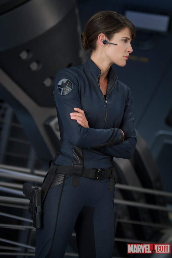 The Avengers New Images Of Cobie Smulders As Maria Hill Geektyrant