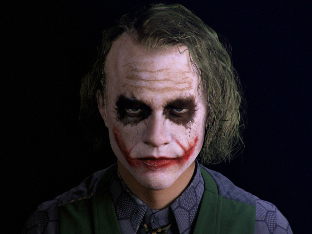 Heath Ledger's Joker Recreated in CGI — GeekTyrant