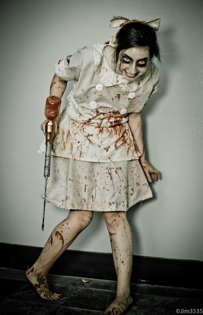 Косплей зомби как сделать