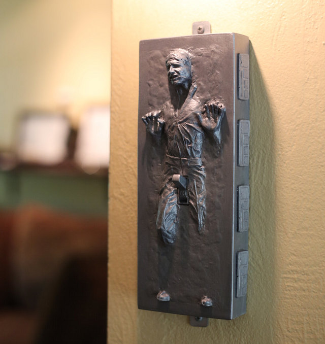 The Force Is Hard With This One Han Solo Carbonite Light Switch