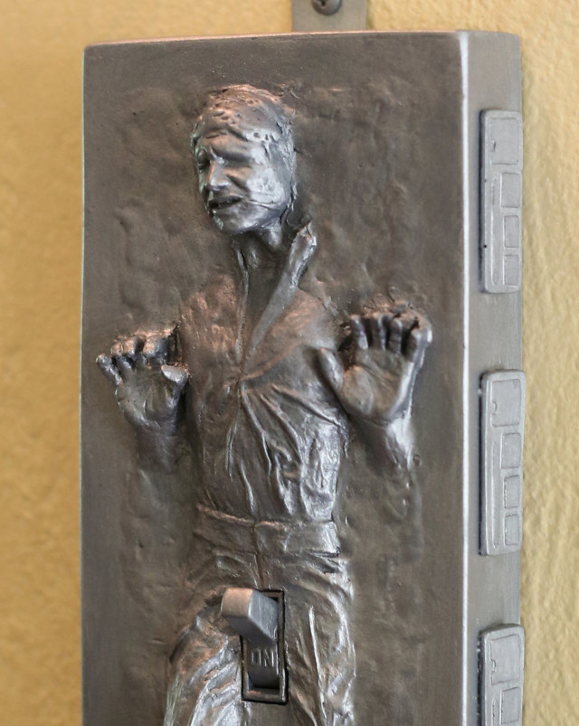 The Force Is Hard With This One Han Solo Carbonite Light