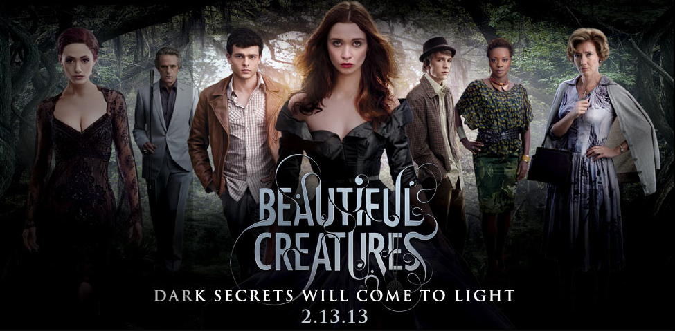 fantasy film beautiful creatures has a new trailer. Black Bedroom Furniture Sets. Home Design Ideas