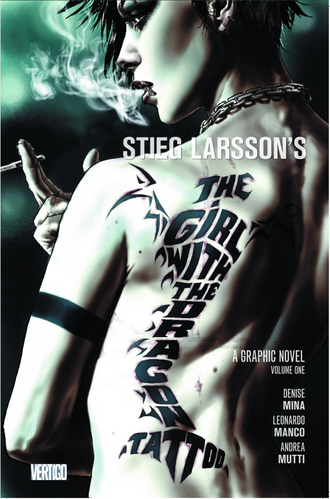 Girl with the dragon tattoo graphic novel on the way for The girl with the dragon tattoo story