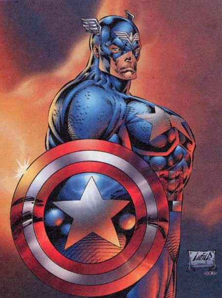 Captain america gets laid