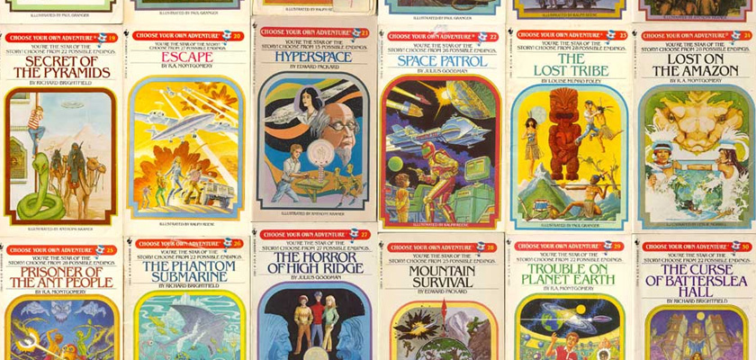 S Choose Your Own Adventure Kids Books
