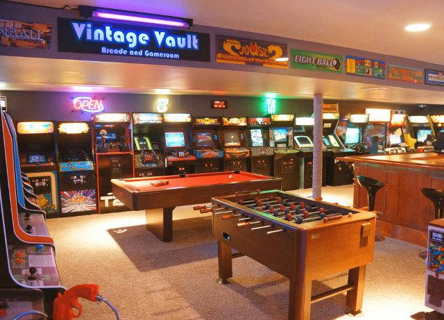 Amazing Giant Basement Arcade Geektyrant
