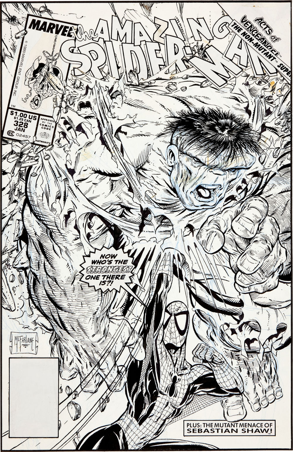 Todd McFarlane Original SPIDERMAN