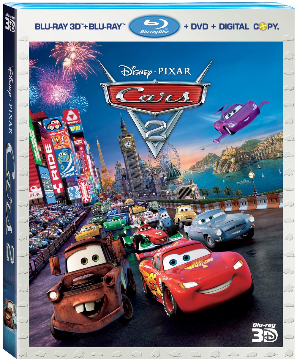 cars 2 3d blu ray and dvd release date set and bonus clip. Black Bedroom Furniture Sets. Home Design Ideas