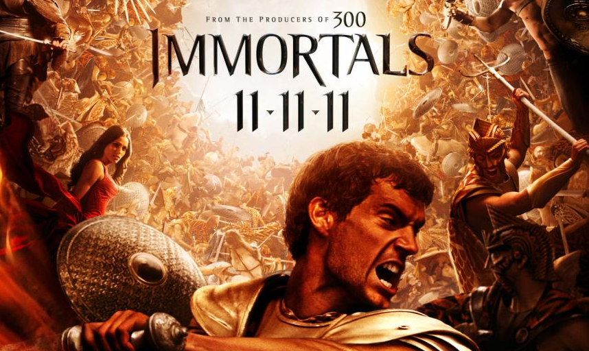movie review immortals � geektyrant