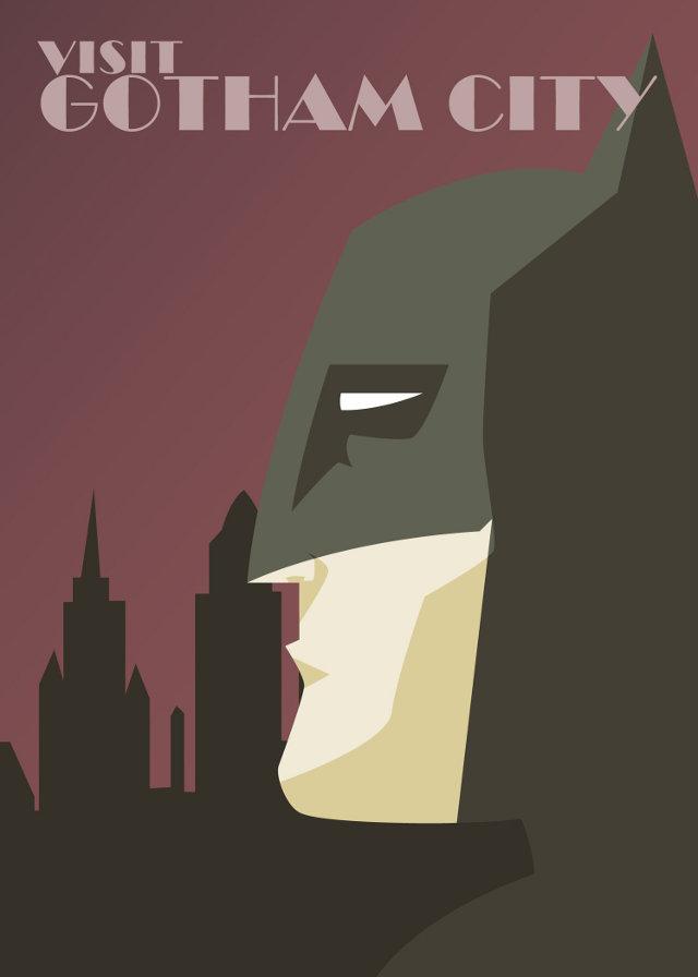 visit gotham city dc superheroes promote tourism geektyrant