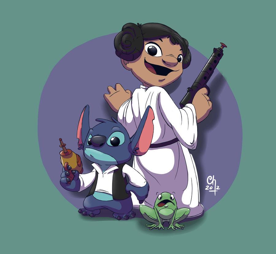 Princess Lilo And Stitch Solo