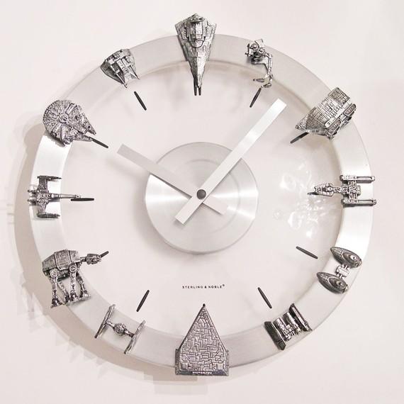 Star Wars Clocks Keep It Classy Geektyrant
