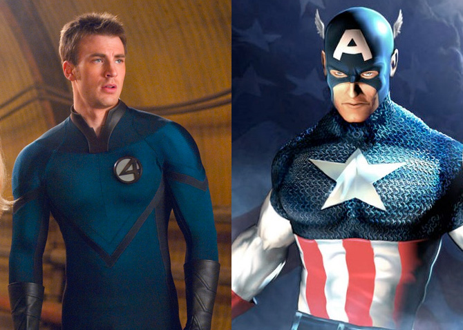 Chris Evans Captain America Years After Role Young Dc