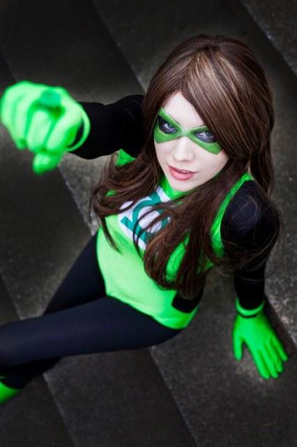 Geek Cosplay: Sendrina - Green Lantern — GeekTyrant