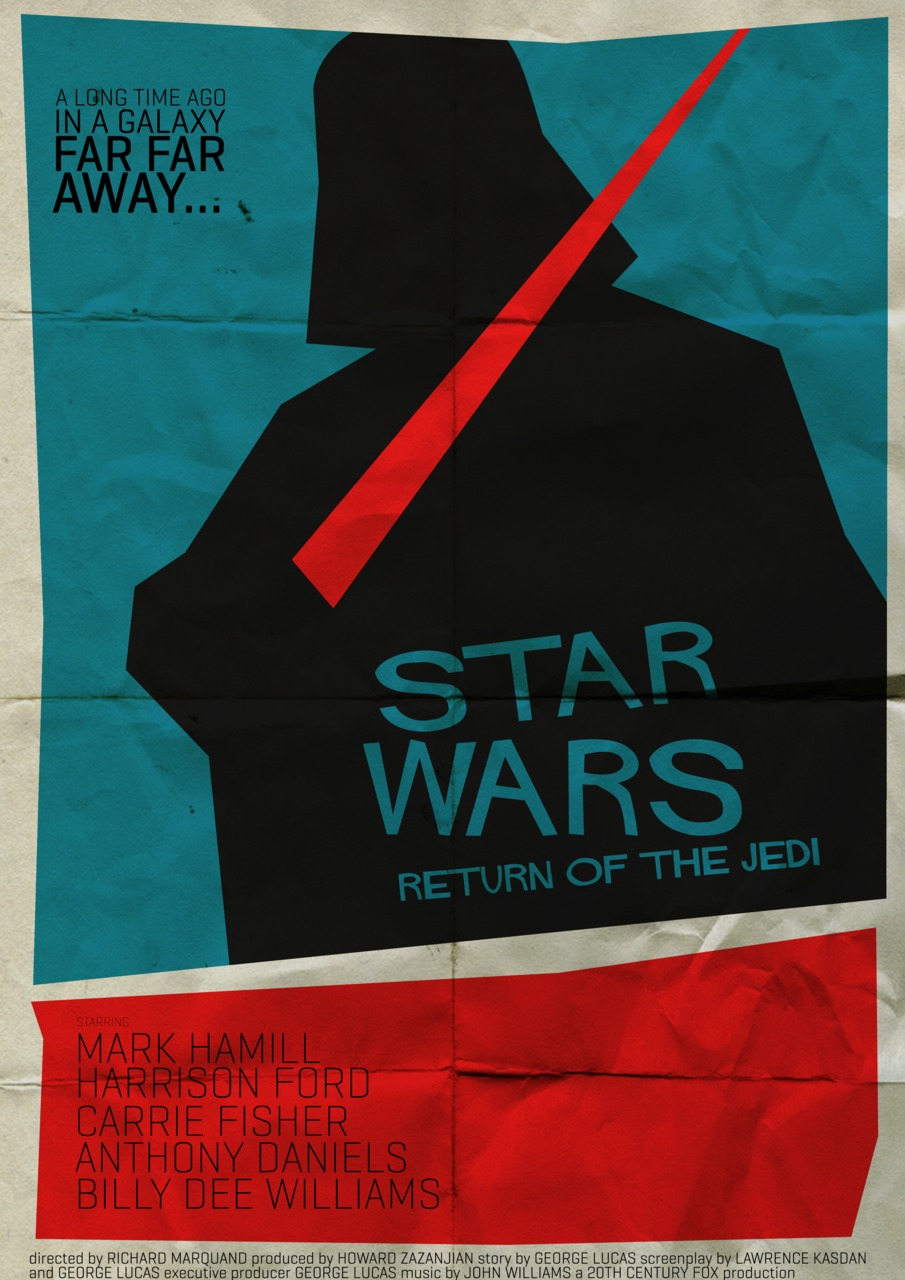 STAR WARS Saul Bass Style Poster Art — GeekTyrant