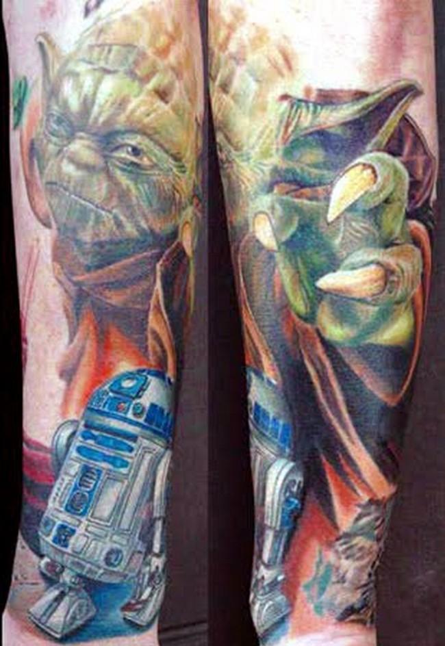 crazy star wars tattoos photo collection � geektyrant