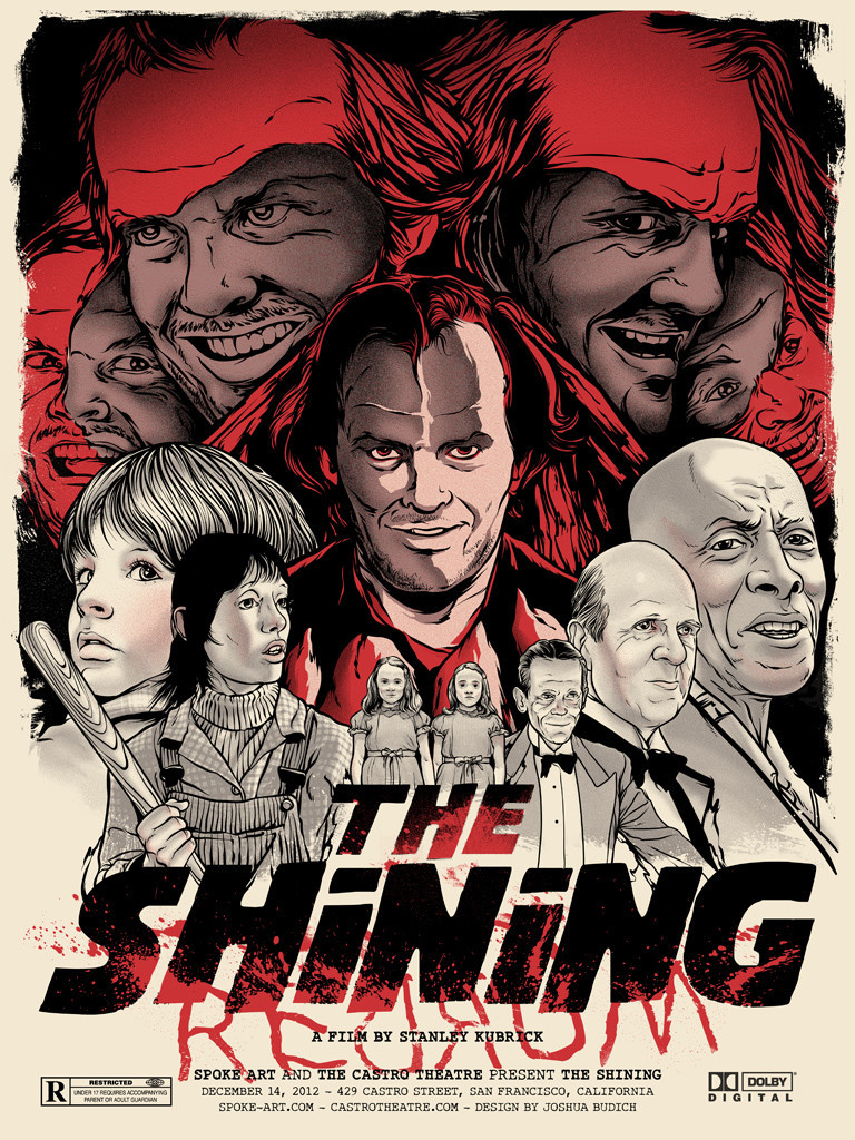 two cool poster designs for stanley kubrick s the shining geektyrant